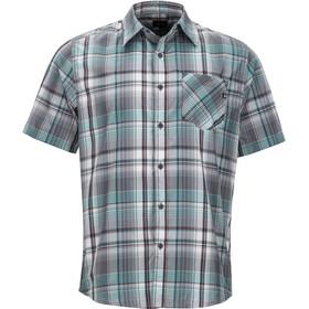 Marmot Echo - T-shirt manches courtes Homme - gris/turquoise